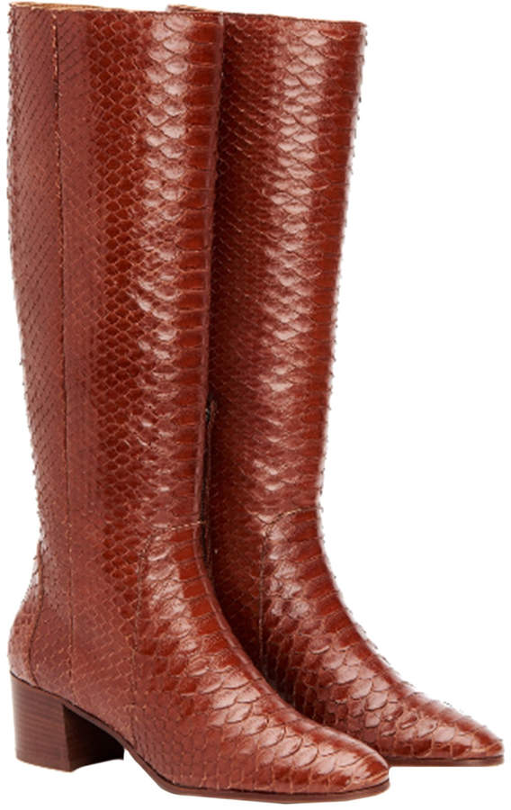 Aquatalia Darlina Waterproof Python Boot