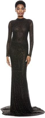 Alice + Olivia Delora Embellished Gown