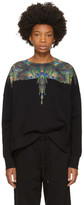 Marcelo Burlon County of Milan Black Auca Sweatshirt