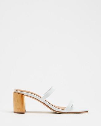 James Smith Sirenuse Strap Sandal Heels