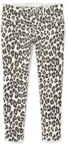 The Children's Place Leopard Glitter Print French Terry Jegging (Little Girls & Big Girls)