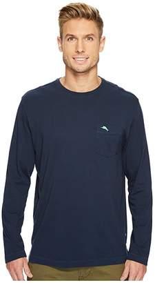 Tommy Bahama New Bali Skyline Long Sleeve T-Shirt (Blue Note) Men's Clothing