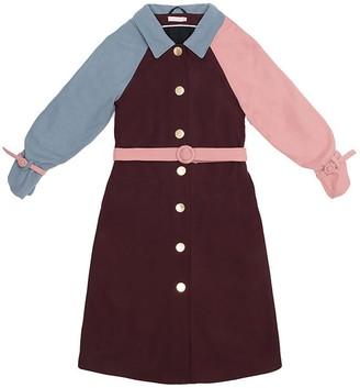 Tomcsanyi Zsoka Tricolor Coat