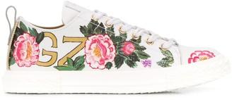 Giuseppe Zanotti x Swae Lee floral-print low-top sneakers