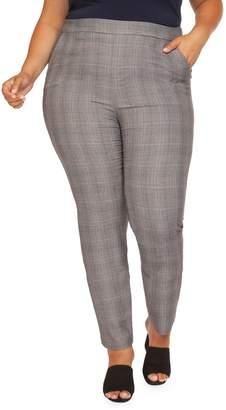 Dex Plus Plaid Ankle Pants