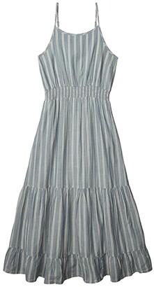 Toad&Co Airbrush Maxi Dress (Spanish Villa Gingham) Women's Clothing