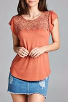 Simply Chic Crochet Top