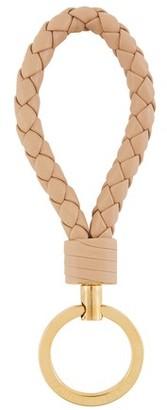 Bottega Veneta Intrecciato leather key ring