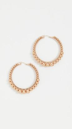 Beck Jewels Gold Bella Hoops