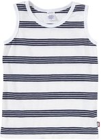 City Threads Tank w/ Stripes (Toddler/Kid) - White-7