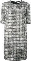 Lanvin tweed shift dress - women - Cotton/Polyester/Viscose/Wool - 40
