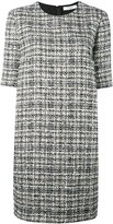 Lanvin tweed shift dress - women - Silk/Cotton/Acrylic/Wool - 40