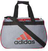 adidas Grey & Red Diablo Small Duffel