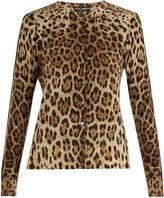 Dolce & Gabbana Leopard-print wool cardigan