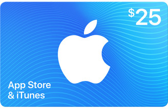 Apple $25 App Store & iTunes Gift Card by Email