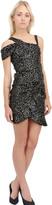 Isabel Marant Sequined Silk Organza Draped Dress