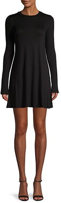 BCBGeneration Long-Sleeve Mini Dress