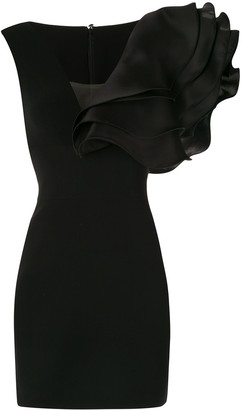 Isabel Sanchis Oversized Ruffle Dress