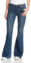 Dittos Women's Gladys High Rise Flare Jean In Dark Vintage