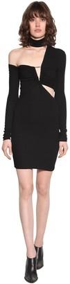 Unravel Stretch Jersey Mini Dress