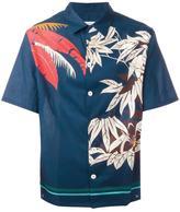 Valentino floral print shirt - men - Cotton - 39