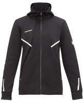 Mammut Delta X - Avers Technical Jersey Hooded Sweatshirt - Mens - Black