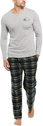 Lucky Brand 2Pc Sleepwear Set