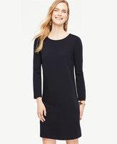 Ann Taylor Home Dresses Ponte Puff Sleeve Shift Dress Ponte Puff Sleeve Shift Dress