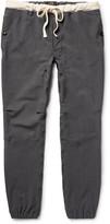 Beams Slim-Fit Stretch-Nylon Twill Drawstring Trousers