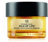 The Body Shop Oils of Life Intensely Revitalising Eye Cream Gel, 0.69 oz.