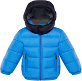 Moncler Perols Quilted Hooded Puffer Jacket, Size 12M-3