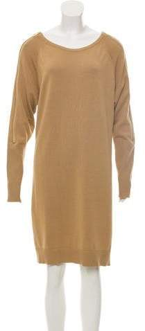 bf2397d9191 Camel Sweater Dress - ShopStyle