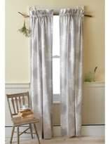 Sanderson Amelia Rose 81-Inch Rod Pocket Window Curtain Panel Pair in Purple