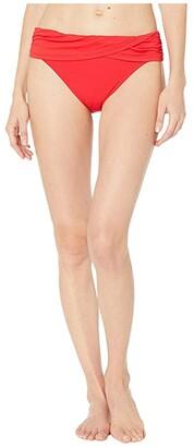 Bleu Rod Beattie Kore Bottoms Sarong Hipster Bottoms (Black) Women's Swimwear