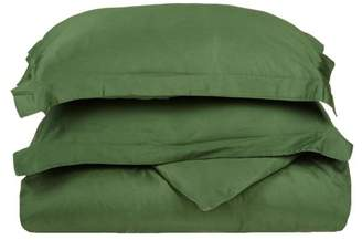 Impressions Forster Egyptian Cotton Solid Duvet Cover Set