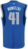 adidas Men's Dirk Nowitzki Dallas Mavericks Rev 30 Replica Jersey