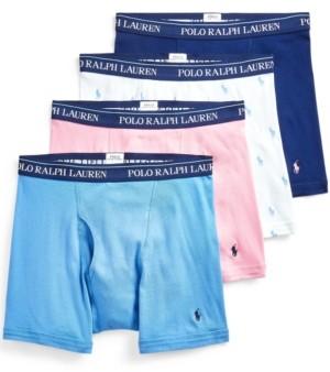 Polo Ralph Lauren Men's 3+1 Bonus Boxer Brief
