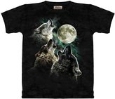 The Mountain T-Shirt - Three Wolf Moon
