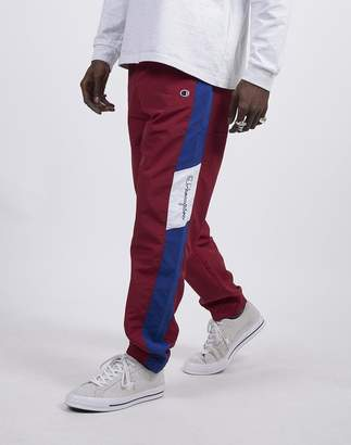 Champion Elastic Cuff Pants Burgundy