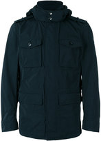 Woolrich Hooded coat - men - Polyester - M