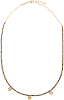 Jacquie Aiche Diamond, pyrite & yellow-gold necklace