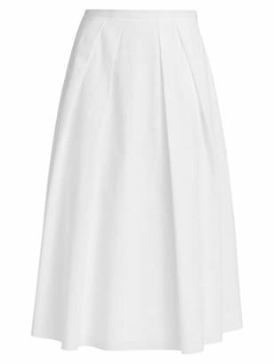 Fabiana Filippi Poplin Midi Skirt