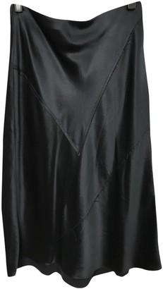 Vince Black Silk Skirt for Women
