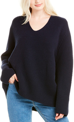 The Row Angela Wool & Cashmere-Blend Sweater