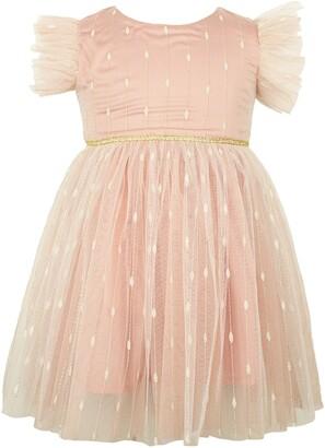 Popatu Flutter Sleeve Dress