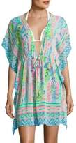 Lilly Pulitzer Gardenia Printed Cover-Up