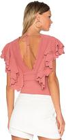 Ronny Kobo Aneessa Bodysuit in Pink. - size M (also in XS)