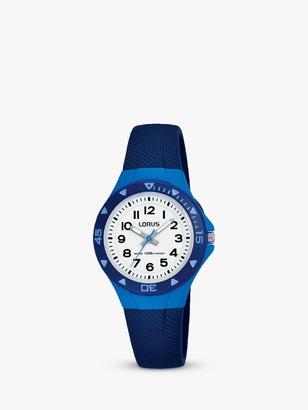Lorus Children's Textured Silicone Strap Watch