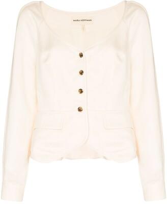 Mara Hoffman Ava button-up blouse