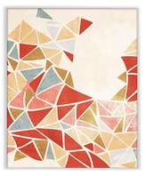 PTM Images Burst of Yellow & Orange Triangles Wall Art